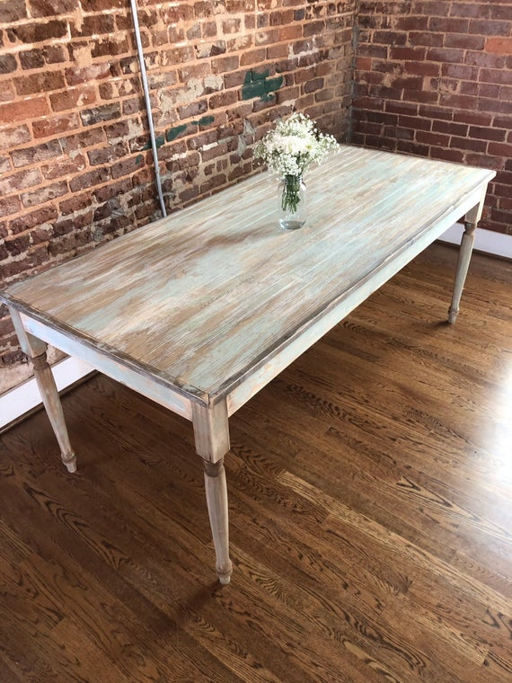 Spring Porch Dining Table // Outdoor Patio Dining Table // | Et