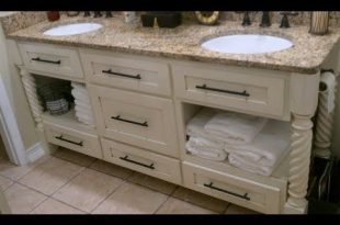 Distressed Bathroom Vanity - YouTu