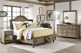 Rustic Distressed Wood Bedroom Set | Wood bedroom furniture sets .
