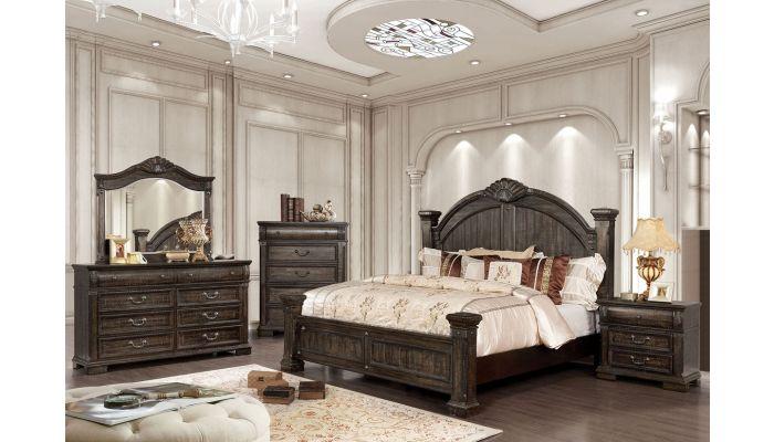 Vdara Bedroom Furniture Distressed Wo