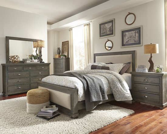 Wood Furniture: Casual + Bedroom + P600 Willow | Distressed Dark .