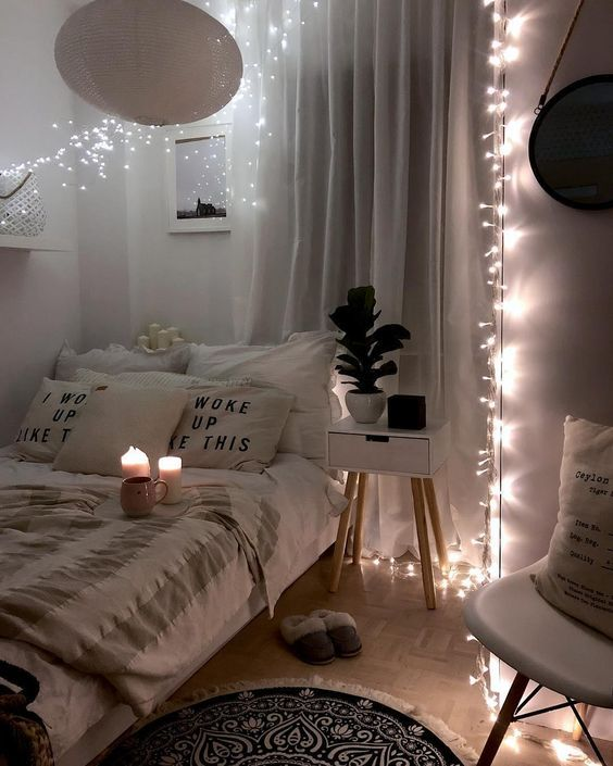 49 DIY Cozy Small Bedroom Decorating Ideas on budget | Cozy small .