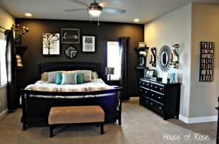 Master Bedroom Wall Makeov