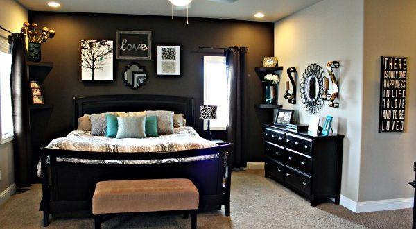 Master Bedroom Wall Makeov