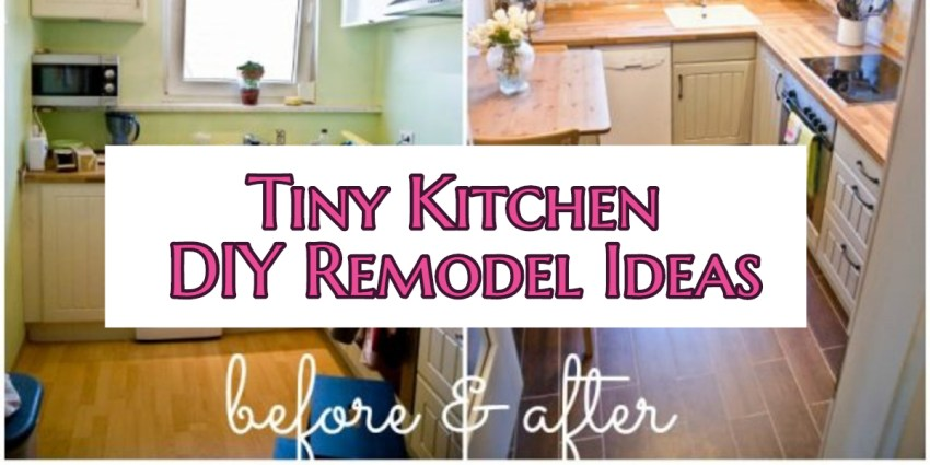 Small Kitchen DIY Ideas – Before & After Remodel Pictures of Tiny .