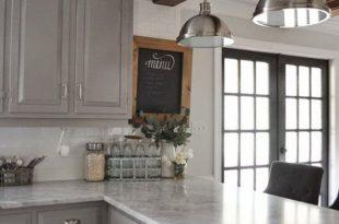 37 Brilliant DIY Kitchen Makeover Ideas | Farmhouse kitchen .