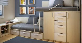 25 Cool Bed Ideas For Small Rooms   Beds for small rooms, Double .