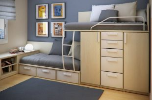 25 Cool Bed Ideas For Small Rooms | Beds for small rooms, Double .