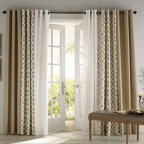 drapes for living room windows