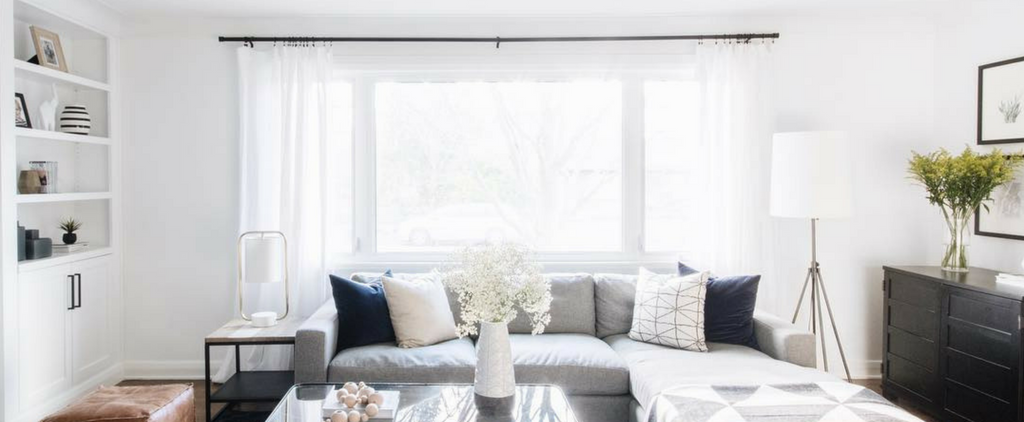 How to Choose Curtains or Drapes for Your Living Room Windows | Al