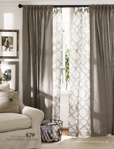 Picture Window Curtains And Window Treatments - Foter | Home .