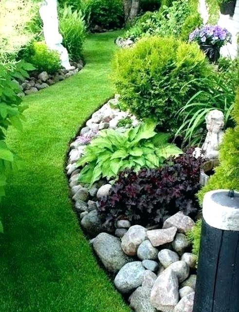 Simple Landscaping Ideas For Front Yard Pictures In The .