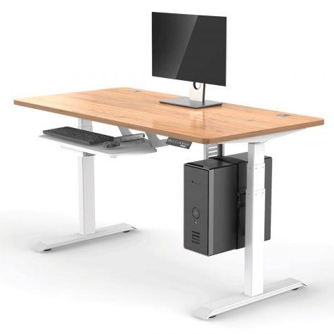 Eureka Ergonomic Wood Desktop E60 Height Adjustable Desk .