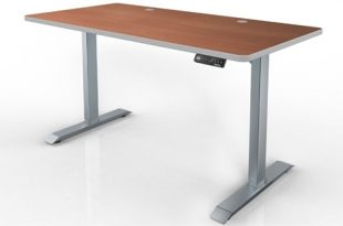 HAT Electric Height Adjustable Table - 120 Degree Corner Sit-to .