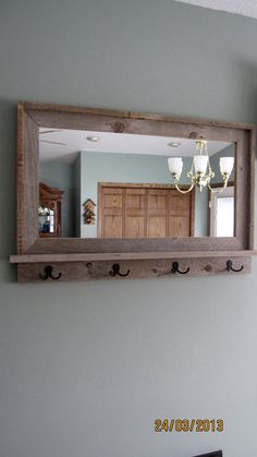16 Best Mirror with hooks images | Mirror with hooks, Decor, Mirr