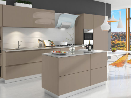 Modern Kitchen Cabinets - Free Shipping, 3D Renderin
