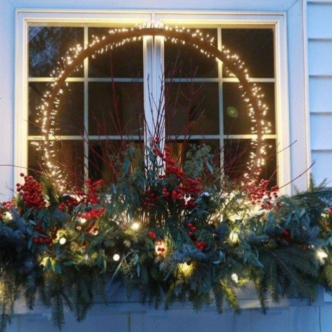 40 Amazing Outdoor Christmas Decorations Ideas (With images .