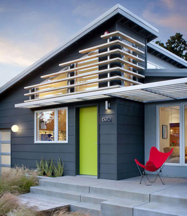 Blue & White Modern Color Scheme » House Exterior » SchemeColor .