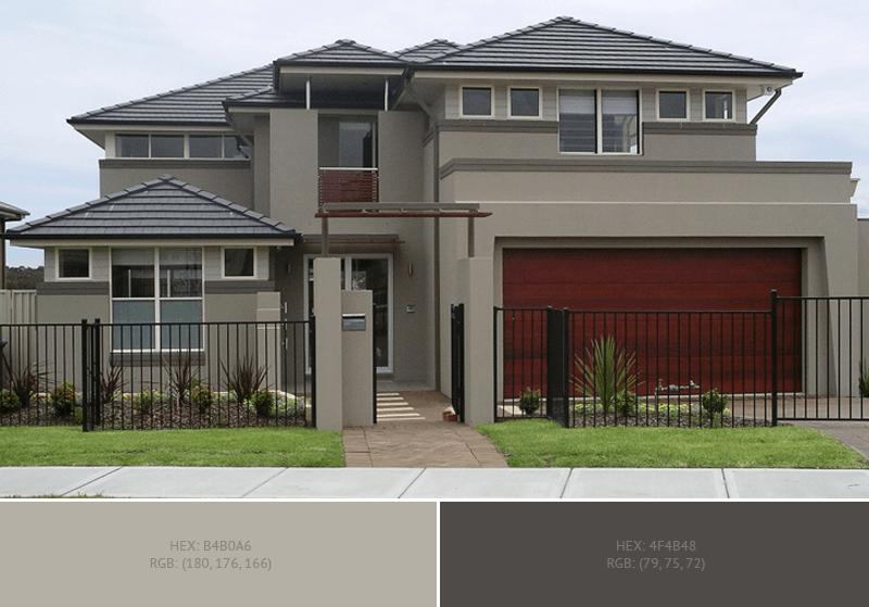Decorating Color Scheme » House Exterior » SchemeColor.c