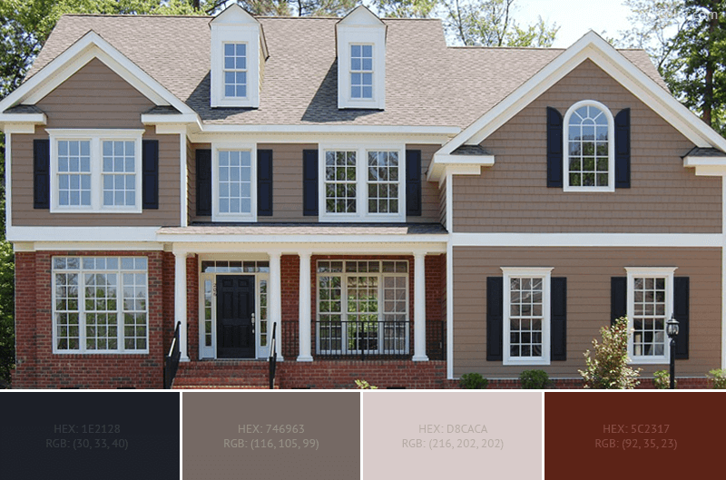 Best Home Exterior Color Combinations And Design Ideas » Blog .
