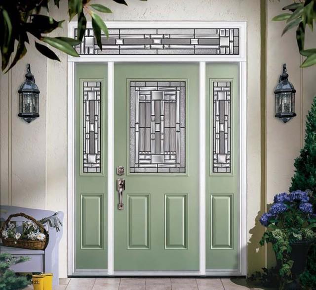 Fiberglass & Steel Doors - American Traditional - Exterior - Tampa .