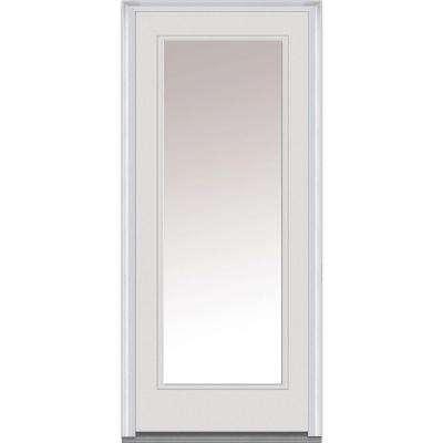 30 x 80 - MMI Door - Off-White - Doors With Glass - Steel Doors .