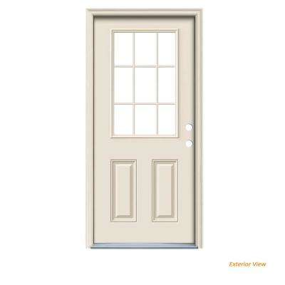 Doors With Glass - Steel Doors - The Home Dep