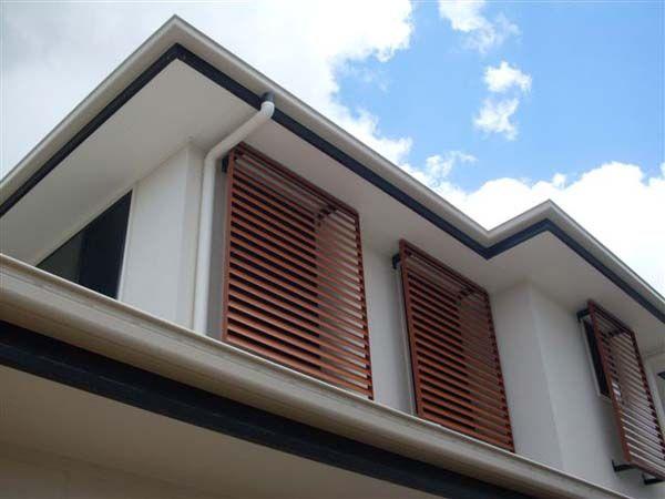 Adjustable Window Louvres - Aluminium Shutters - Steel Louvres .