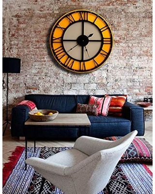 Can't Miss Deals on Extra Large Modern Wall Clock,34'' Giant Wall .