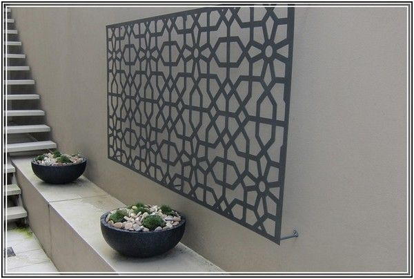 extra large outdoor metal wall art