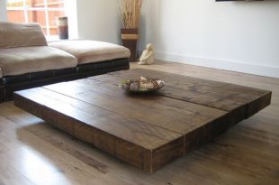 10 Large Coffee Table Designs For Your Living Room | Large square .