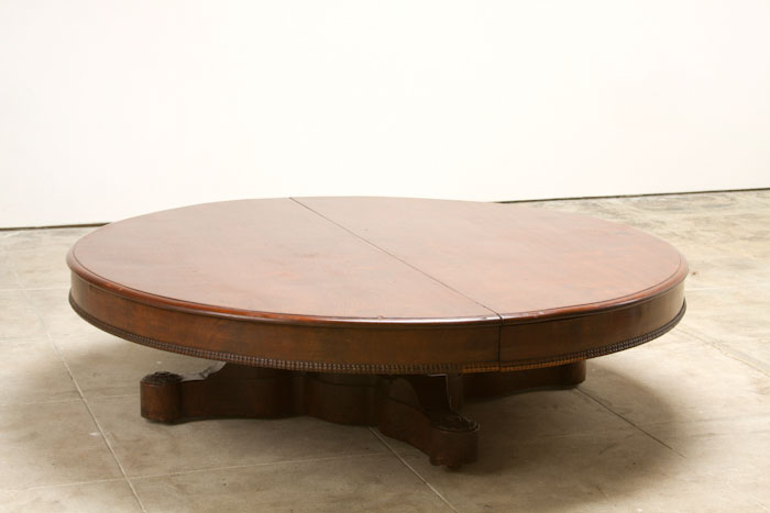 Brilliant Large Round Coffee Table - Father of Trust Desig