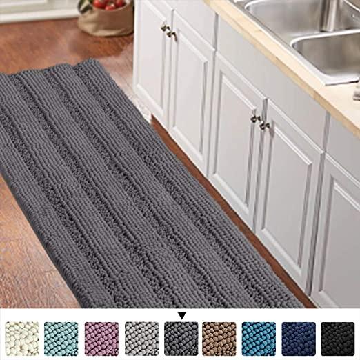 Amazon.com: Bathroom Runner Rug Oversize Non-Slip Bathroom Rug .
