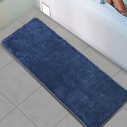 Amazon.com: Shaggy Bathroom Runner Rug, Uphome Microfiber Non-Slip .