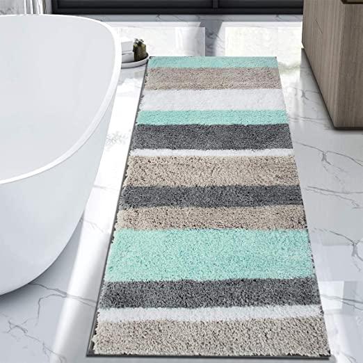 extra long bathroom runner rugs