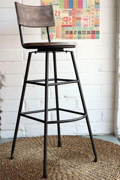 Washington Careo extra tall swiveling bar stool … | Tall bar .