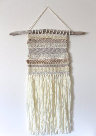project: DIY Woven Wall Hanging (With images) | Woven wall hanging .