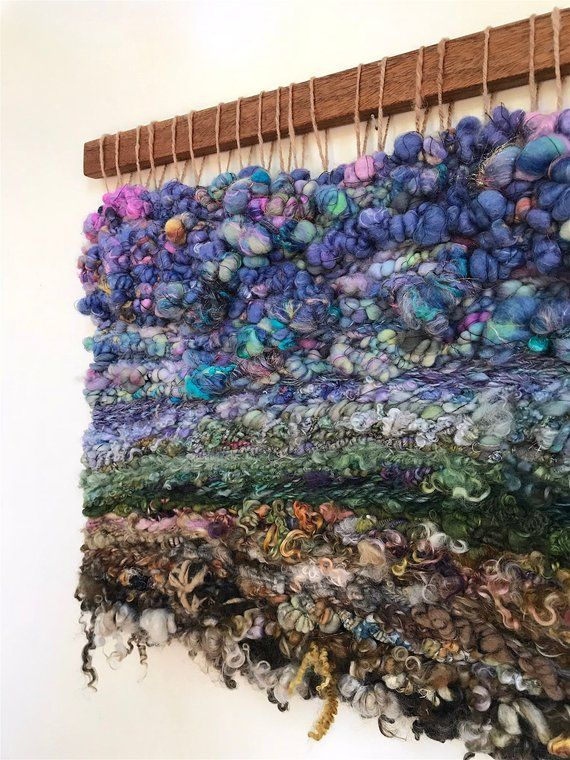 Fabric Art Tapestry Wall Hanging