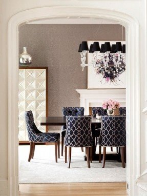 Black Fabric Dining Chairs - Ideas on Fot