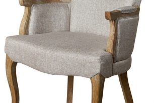 GDF Studio Eva Traditional Fabric Dining Armchair - Traditional .