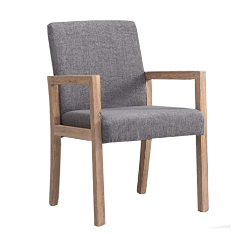 Amazon.com - Dining Chair YXX Wood Fabric Dining Side Chair with .