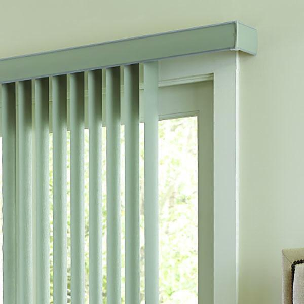 Vertical Blind Valance Base (Square Corner) — ReSlat.c