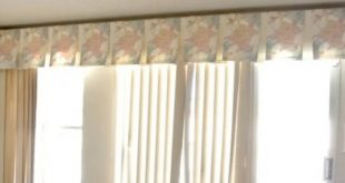Valance Ideas for Vertical Blinds: Crown Your Windows | ZebraBlin