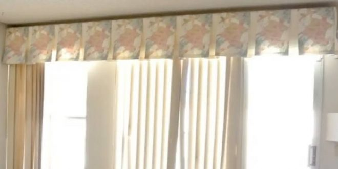 Valance Ideas for Vertical Blinds: Crown Your Windows   ZebraBlin