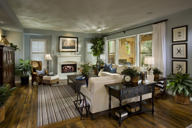 15 Timeless Traditional Family Room Designs Your Family Will Enj