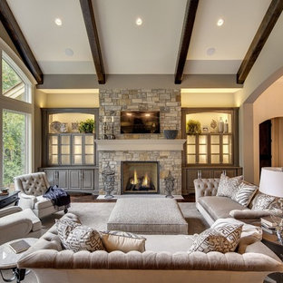 75 Beautiful Traditional Family Room Pictures & Ideas | Hou