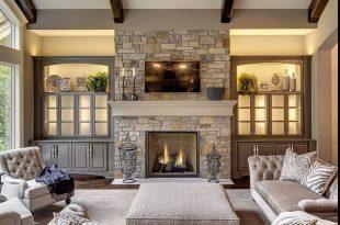 Beautiful family room … | Modern living room interior, Family room .