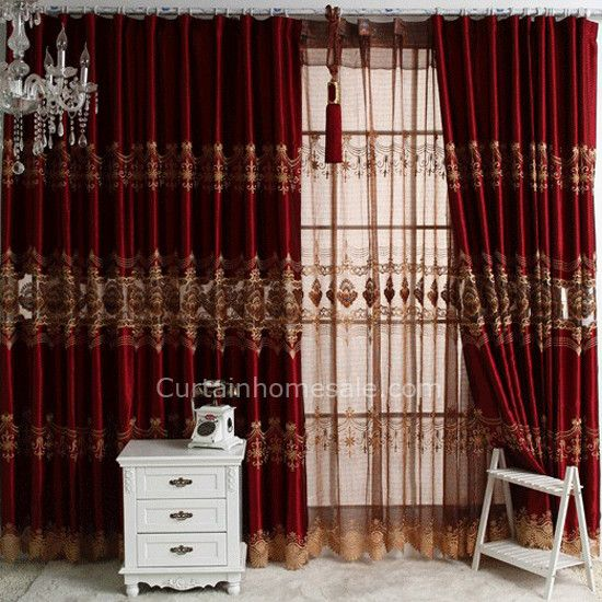 living room fancy curtains - Living Room Design | Fancy curtains .
