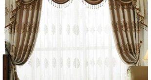 Blackout Curtain Grommets Living Room Sheers Panels Bedroom Window .