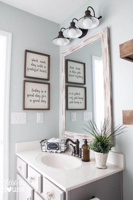 51+ Cheap And Easy Home Decorating Ideas | Modern farmhouse .